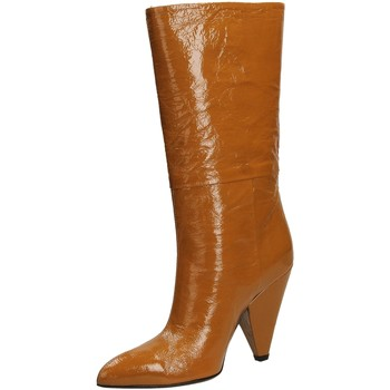 Chaussures Femme Bottes ville Giampaolo Viozzi CONO NAPLACK whisk-whisky