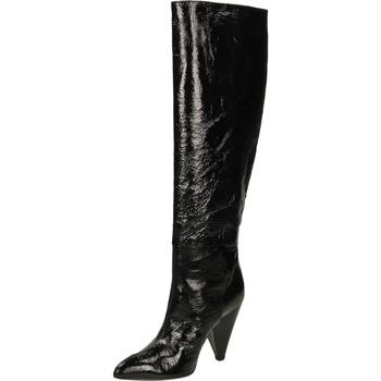 Chaussures Femme Cuissardes Giampaolo Viozzi CONO TORTUGHINO nero-nero