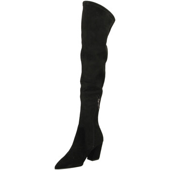 Chaussures Femme Cuissardes What For FEFE black-nero