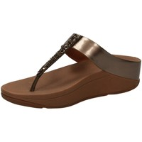 Chaussures Femme Sandales et Nu-pieds FitFlop FINO TM bronz-bronzo