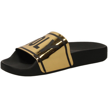 Chaussures Femme Claquettes The White Brand HOLY BEACH gold-oro