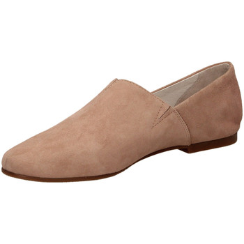 Chaussures Femme Mocassins Café Noir PANTOFOLA IN CAMOSCI cipri-cipria