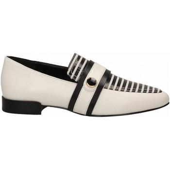 Chaussures Femme Mocassins What For GREGOIRE black-white