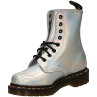 Chaussures Femme Boots Dr Martens DMS PASCAL IM METALL silve-argento