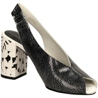 Chaussures Femme Escarpins What For LALI blawh-nero-bianco