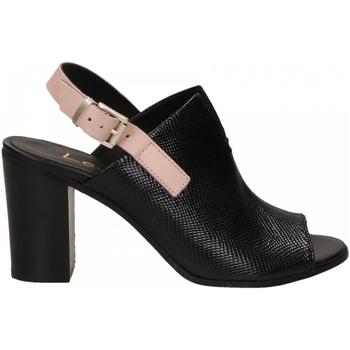 Chaussures Femme Sandales et Nu-pieds Lemaré FIESOLE nero-rosa-3390