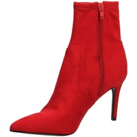 Chaussures Femme Bottines Steve Madden LAVA MICROSUEDE red-rosso