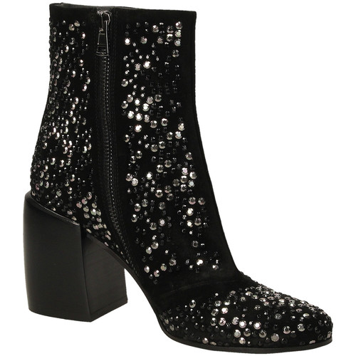 Chaussures Femme Boots Now VELOUR nero-nero
