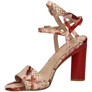 Chaussures Femme Sandales et Nu-pieds What For GEORGIA red-rosso