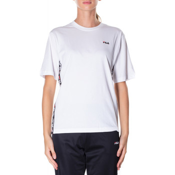 Vêtements Femme T-shirts manches courtes Fila TALITA TEE SS briwh-bianco