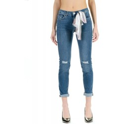 Vêtements Femme Jeans slim Liu Jo BOTTOM UP PRECIOUS 77531-denim