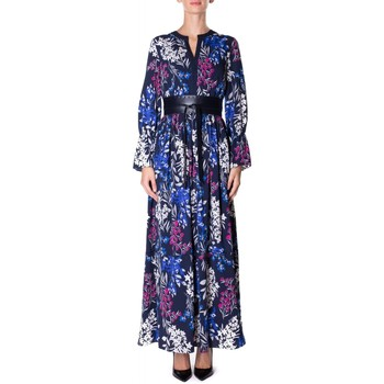 Vêtements Femme Robes longues Luckylu ABITO L.SEERSUCKER 0405-navy