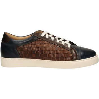 Chaussures Homme Baskets basses Brecos CAPRI azztm-blu-marrone