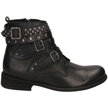 Chaussures Femme Bottines Exton INTRECCIO legno-marrone