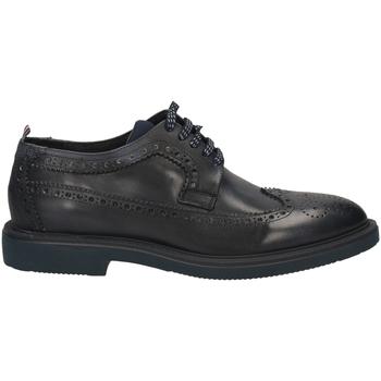 Chaussures Homme Derbies Café Noir DERBY CODA DI RONDIN blu-blu