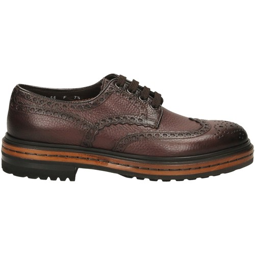 Chaussures Homme Derbies Santoni DERBY 4F.C.RONDINE D irs56-marrone