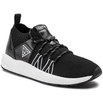 Chaussures Guess Baskets Femme Veller Noir