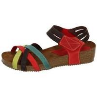 Chaussures Femme Sandales et Nu-pieds Interbios  Multicolore