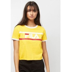 Vêtements Femme T-shirts manches courtes Fila T-shirt court ASHLEY TEE Jaune