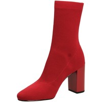 Chaussures Femme Bottines What For JACK red-rosso