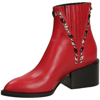 Chaussures Femme Bottines Giampaolo Viozzi MAXIME scoot-rosso