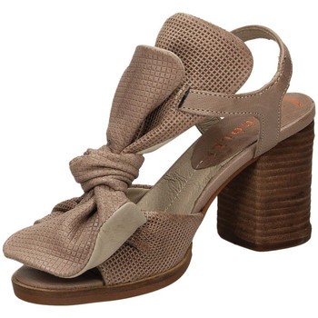 Chaussures Femme Sandales et Nu-pieds Fabbrica Dei Colli CLOUD 03126-taupe