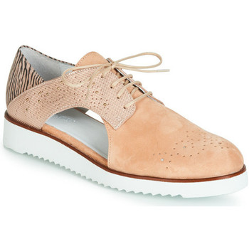 Chaussures Femme Derbies Regard Rixulo Buck rose