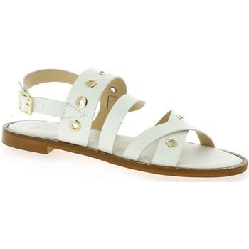 Chaussures Femme Sandales et Nu-pieds Exit Nu pieds cuir Blanc