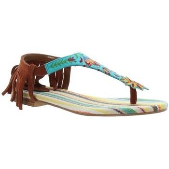 Chaussures Femme Sandales et Nu-pieds Desigual Sandales  Lupita ref_45772 5082 Bleu