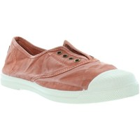 Chaussures Femme Tennis Natural World Baskets  ref_natural45803 618 Rouille Rouge