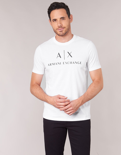 z8h4z Manches 8nztcj Homme 1100 shirts Courtes Exchange T Blanc Armani rCoBxed