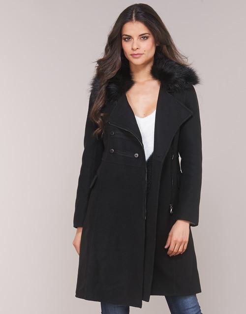 Vêtements Femme Manteaux Moony Mood LITEA Noir