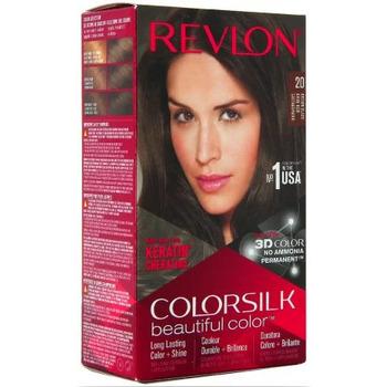 Beauté Femme Accessoires cheveux Revlon Coloration Colorsilk n°20 Brun noir Autres