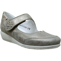 Chaussures Femme Ballerines / babies Mobils By Mephisto Janis Taupe cuir