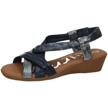 Chaussures Femme Sandales et Nu-pieds Karralli  Bleu