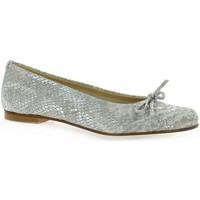 Chaussures Femme Ballerines / babies Elizabeth Stuart Ballerines cuir serpent Blanc