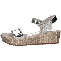 Chaussures Enfant Sandales et Nu-pieds Unisa TERETE 19 R SP SILVE Argent