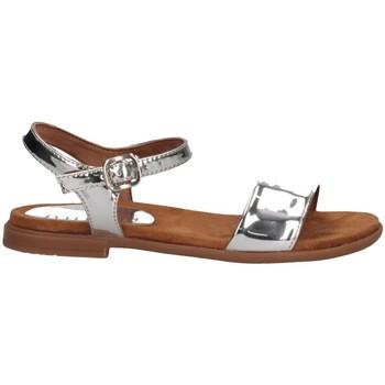 Chaussures Enfant Sandales et Nu-pieds Unisa LIRITA SP CAN SILVER Argent