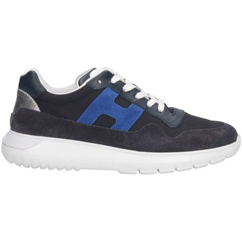 Chaussures Enfant Baskets basses Hogan HXC3710AP30KK6694P Basket Bébé Bleu Bleu
