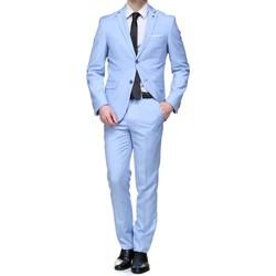 Vêtements Homme Costumes  Jean Louis Scherrer Costume 2 pièces cintré Bleu