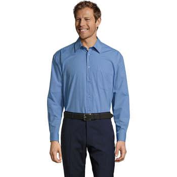 Vêtements Homme Chemises manches longues Sols BALTIMORE FASHION WORK Azul