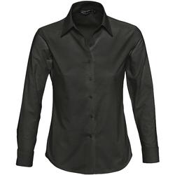 Vêtements Femme Chemises / Chemisiers Sols EMBASSY OXFORD GIRL Negro