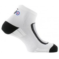 Accessoires Homme Chaussettes Thyo Socquettes Run-Lighty made in France Blanc gris