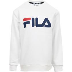 Vêtements Enfant Sweats Fila Kids Classic Logo Crew Sweat blanc