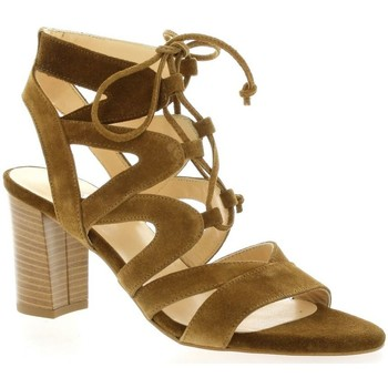 Sandales Brenda Zaro Nu pieds cuir velours