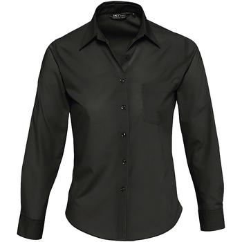 Vêtements Femme Chemises / Chemisiers Sols EXECUTIVE POPELIN WORK Negro