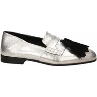 Chaussures Femme Mocassins Lemaré CAMOSCIO/LAMINATO argento-nero