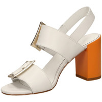 Chaussures Femme Sandales et Nu-pieds What For GEORGETTE white-bianco
