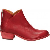 Chaussures Femme Bottines Mat:20 WEST rosso