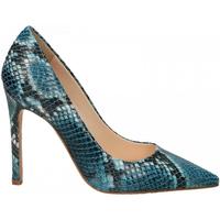 Chaussures Femme Escarpins Enzo Di Martino CAMOCIO TACCO CARIOCA pavone